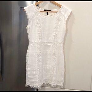 White bcbgmaxagria dress